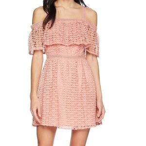 Jack by BB Dakota Aitana Geometric Lace Dress